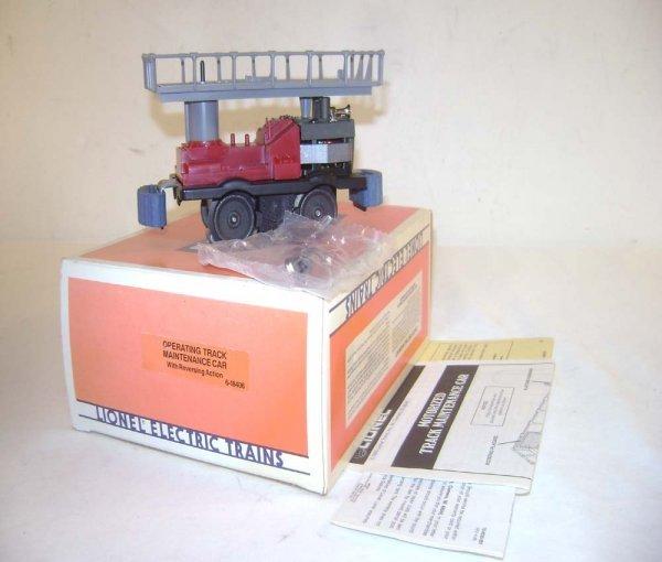 3: ABT: Mint Lionel #18406 Track Maintenance Unit/OB