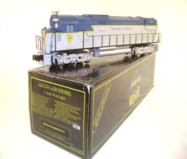 6: ABT: Mint Weaver #611 Delaware & Hudson Alco C-628 D