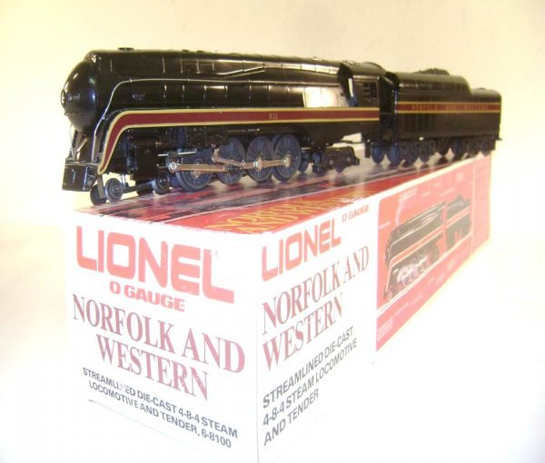 10: ABT: Lionel #8100 N&W J Class Streamline Steam Engi