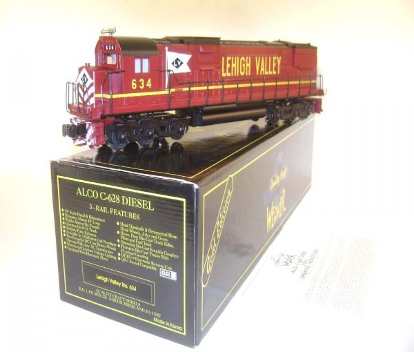 13: ABT: Weaver #634 Lehigh Valley Alco C-628 Diesel/OB