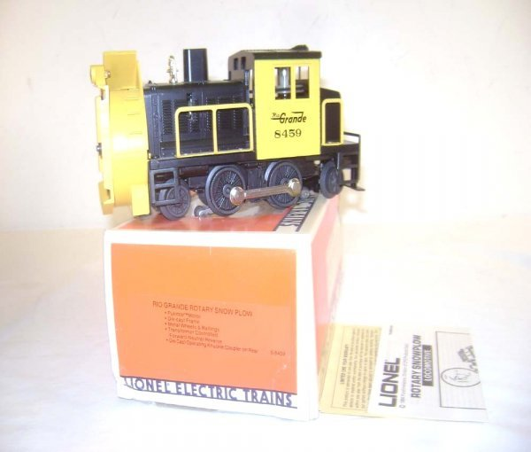 14: ABT: Lionel #8459 D&RG Rotary Snow Blower/OB