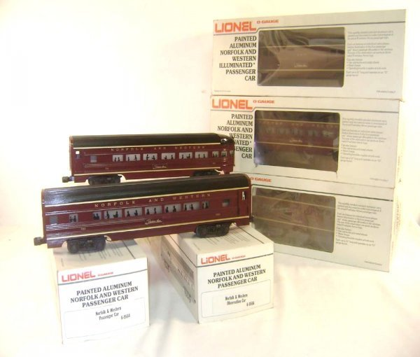 15: ABT: Great Lionel #9562/63/64/65/66 N&W Streamline