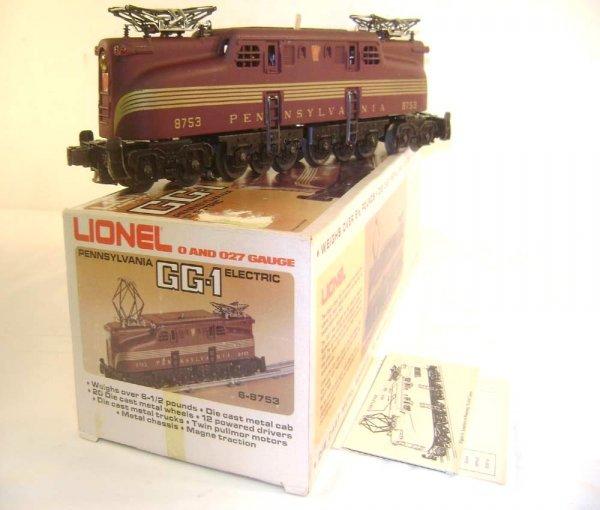 20: ABT: Lionel #8753 Pennsylvania Tuscan Five Stripe G