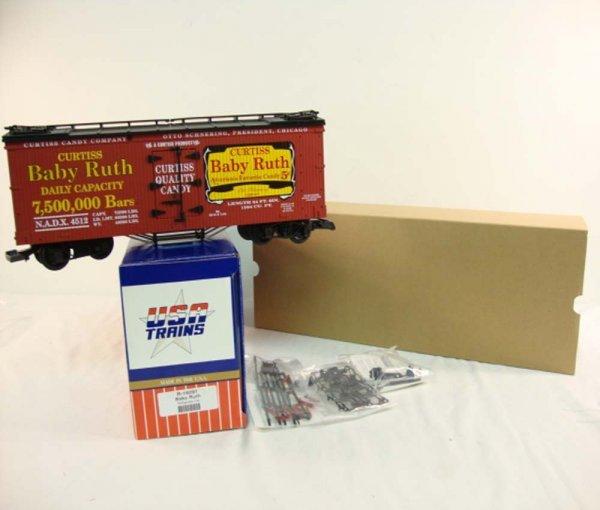 3: ABT: USA G Scale R-16091 Baby Ruth Refrigerator Car/