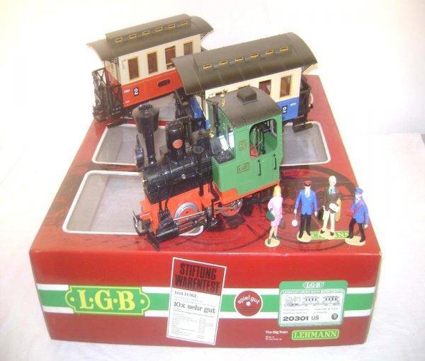 5: ABT: LGB G Scale #20301 US Three Piece Passenger Set