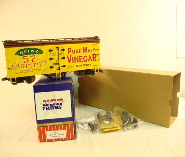 11: ABT: USA G Scale #R-161217 Heinz Malt Vinegar Refri