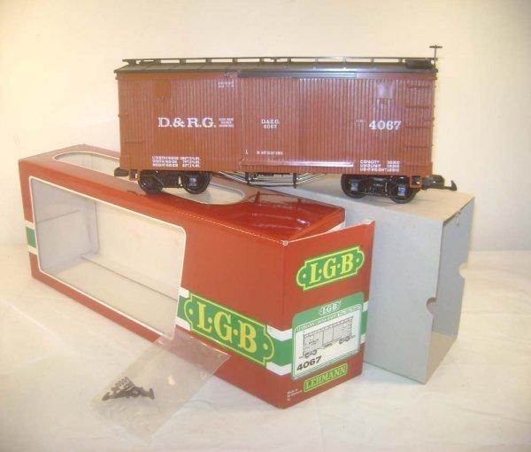12: ABT: LGB #4067 G Scale D&RG Reefer/OB