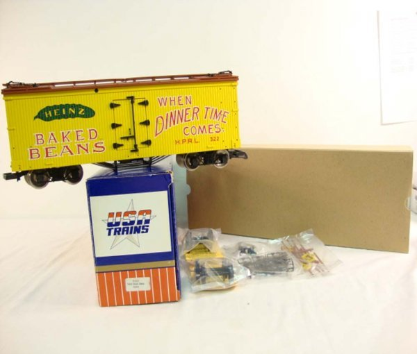 14: ABT: USA G Scale #R-1647 Heinz Baked Beans Reefer/O