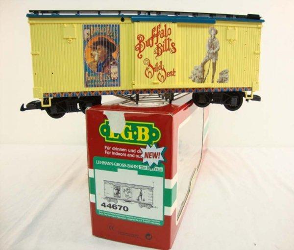 18: ABT: LGB G Scale #44670 Buffalo Bills Wild West Box