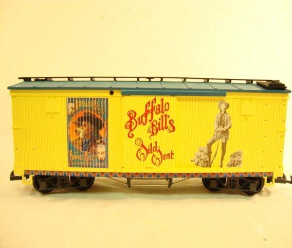 18: ABT: LGB G Scale #44670 Buffalo Bills Wild West Box - 6