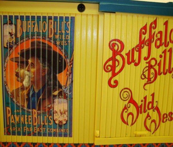 18: ABT: LGB G Scale #44670 Buffalo Bills Wild West Box - 7