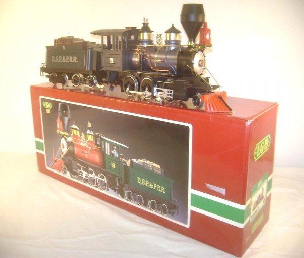 20: ABT: LGB G Scale #2028D DSP&PRR 0-6-0 Steam Engine
