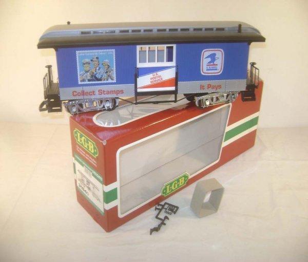 24: ABT: LGB G Scale #3184O US Mail Car/OB