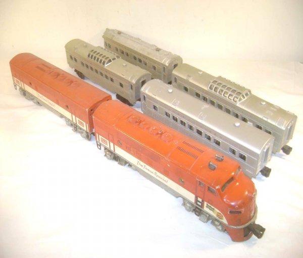 100: ABT: Lionel #2245 Texas Special F3 Units plus 4 35
