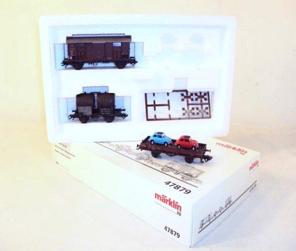 9: ABT: Marklin HO 3-item #47879 Wagon Set/OB