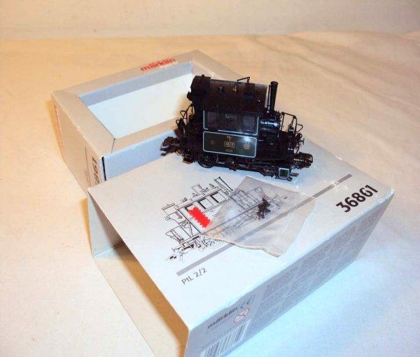 21: ABT: Marklin Digital HO #36861 Steam Switcher/OB