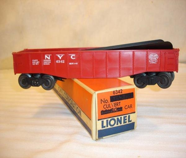 1: ABT:Mint Lionel #6342 Culvert/Separate-Sale BoxHere