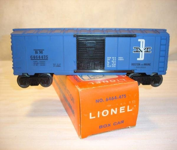 2: ABT:Lionel #6464-475 B&M Purple Box Car/OBHere is a