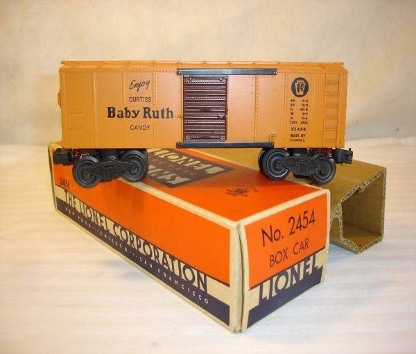 4: ABT: Lionel #2454 Baby Ruth Box Car w/OBHere is a Ve