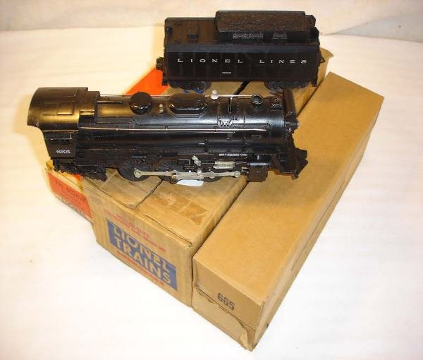 5: ABT:Lionel #665 LTS w/#665 Steam & #6026W/ObsThis is