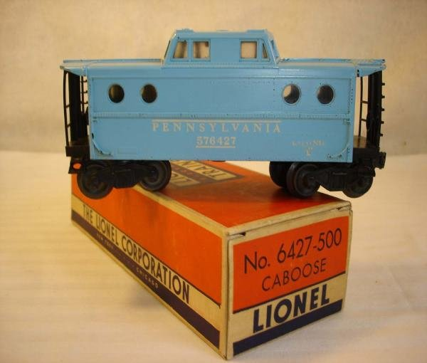 11: ABT: Lionel #6427-500 Girl's N5C Caboose/OBThis is
