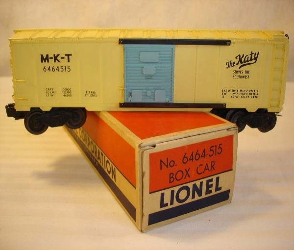 19: ABT: Lionel #6464-515 Girl's MKT Box Car/OBThis is