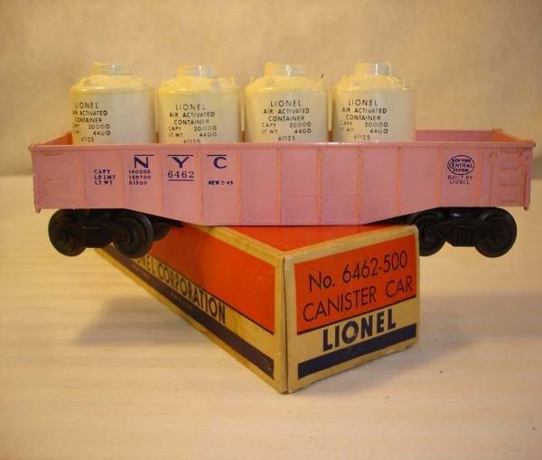 23: ABT: Lionel #6462-500 Pink NYC Girl's Gondola/OBThi