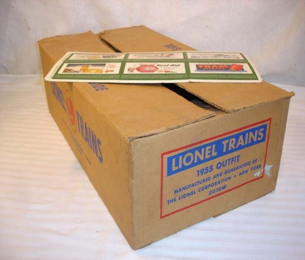 25: ABT: Brick Lionel #2239W Set Box (Illinois Central)