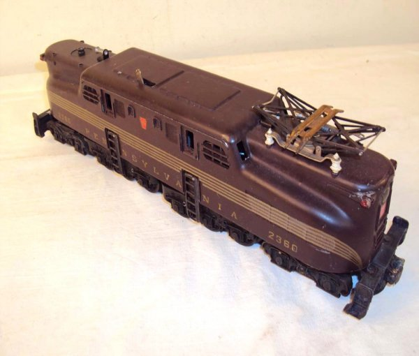 1: ABT: Lionel #2360 Tuscan Five Stripe GG-1 Electric (