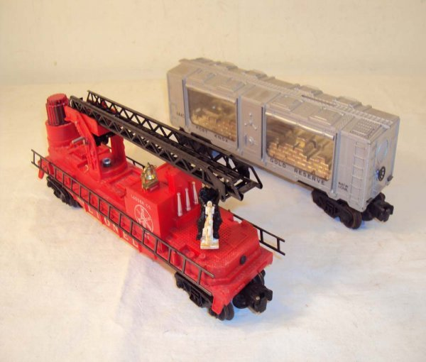 2: ABT: Lionel #6445 Ft. Knox & #3512 Fireman and Ladde
