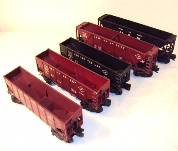 7: ABT: 5 Assorted Lionel Hoppers