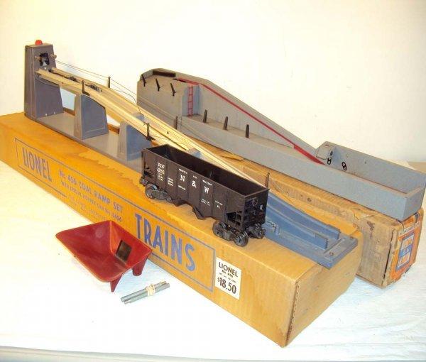 15: ABT: Lionel #456 Coal Ramp Set & #364 Operating Log