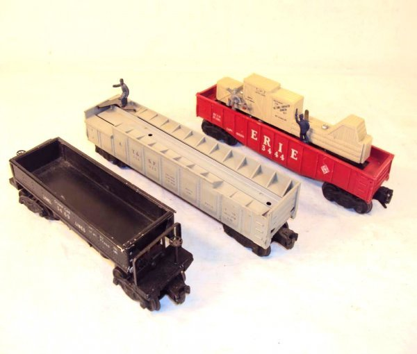 18: ABT: Lionel #3444, #3562-25 & #3469 Operating Cars