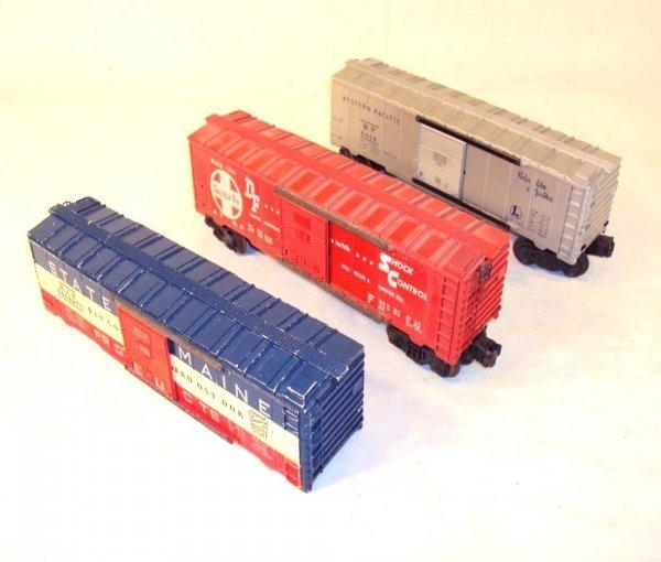 19: ABT: Lionel #6464-1, -275 & -700 Box Cars