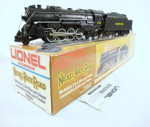 1: ABT: Great Lionel #8215 Nickle Plate Road Berkshire