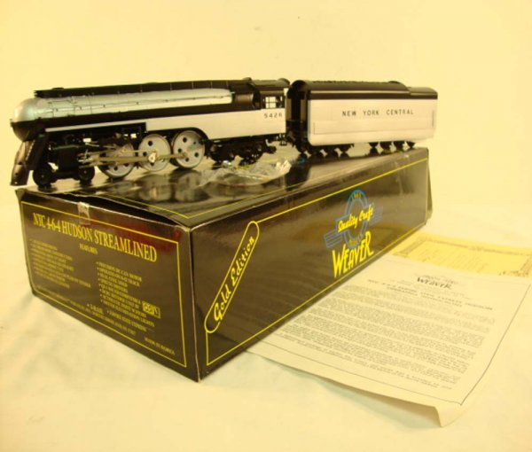 4: ABT: Weaver #5426 New York Central 4-6-4 Scale Strea