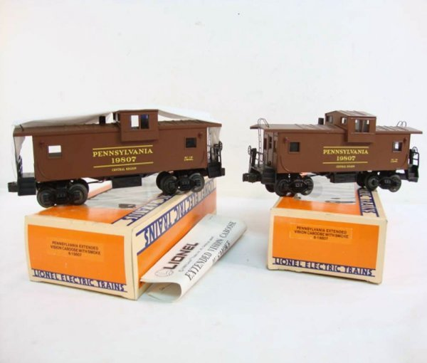 11: ABT: 2 Mint Lionel #19807 Pennsylvania Smoking Cabo
