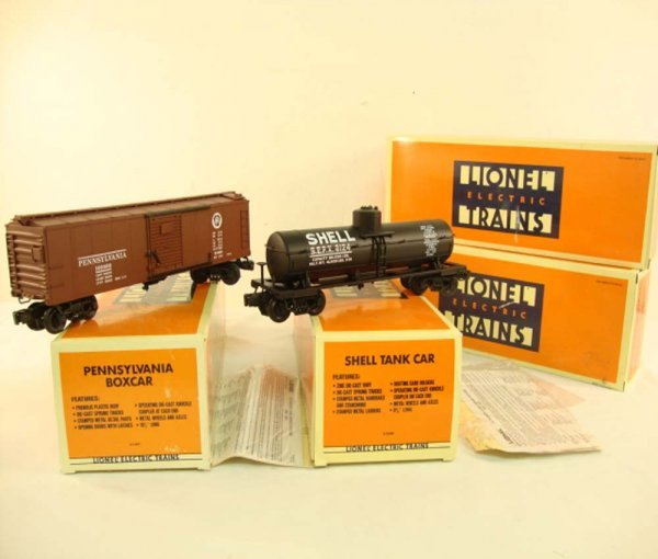 19: ABT: Mint Lionel Semi-Scale Freight Cars #51401/513