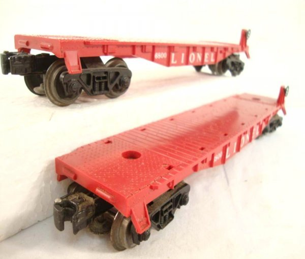 2: ABT: 3 Lionel #6800 Airplane Cars