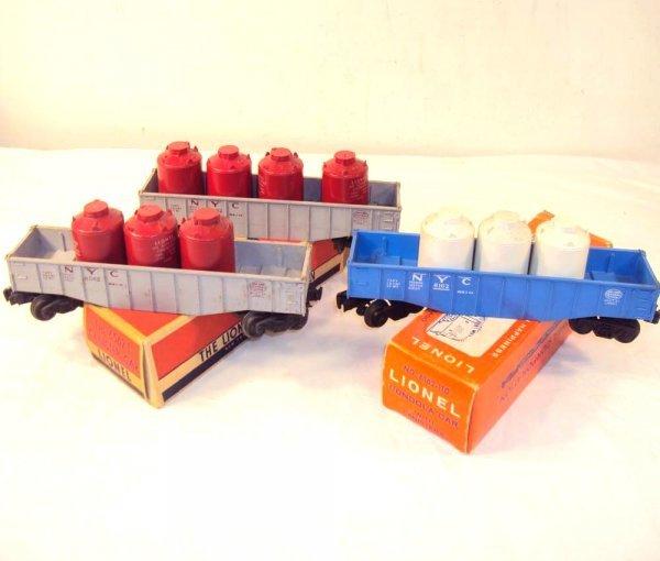 9: ABT: Lionel 2 #6562-1 & #6162-100 Gondolas/OBs