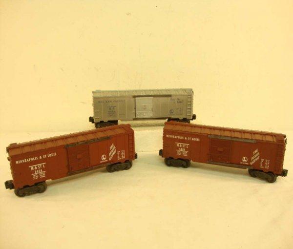 14: ABT: Lionel #6464-1 & -50 (2) Box Cars