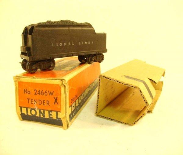 17: ABT: Lionel 1946 Model #2466WX Tender/OB