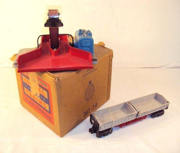 21: ABT: Lionel #397 Coal Loader & #3359-55 Dump Car/OB