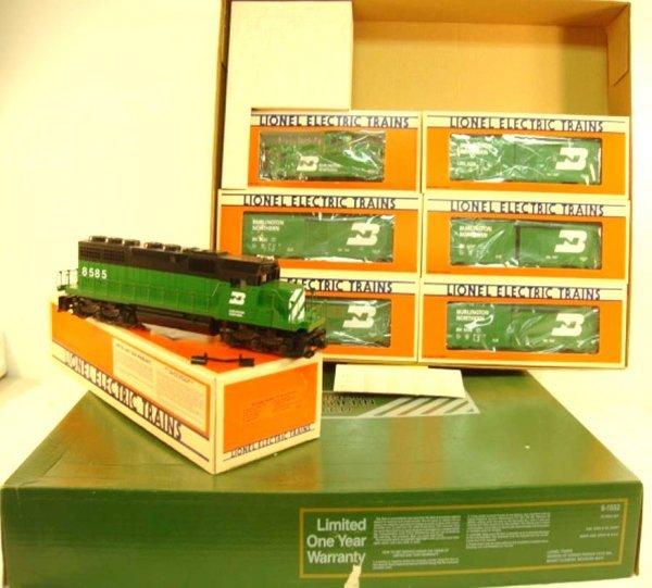 1: ABT: Lionel #1552 Burlington Northern Std O Freight