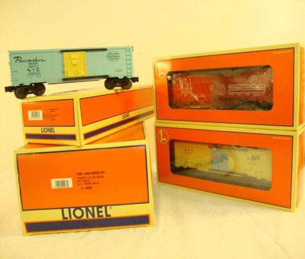 2: ABT: Mint Lionel #29267 6464 Series VIII Box Cars/OB