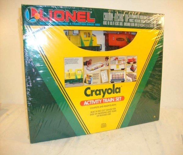3: ABT: Mint/Sealed Lionel #11813 Crayola Activity Trai