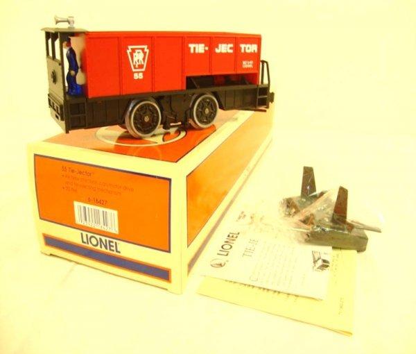 6: ABT: Mint Lionel #18427 55 Tie Jector Unit/OB
