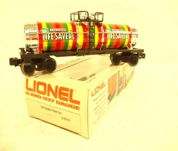 7: ABT: Lionel #9278 Life Savers Tank Car/OB