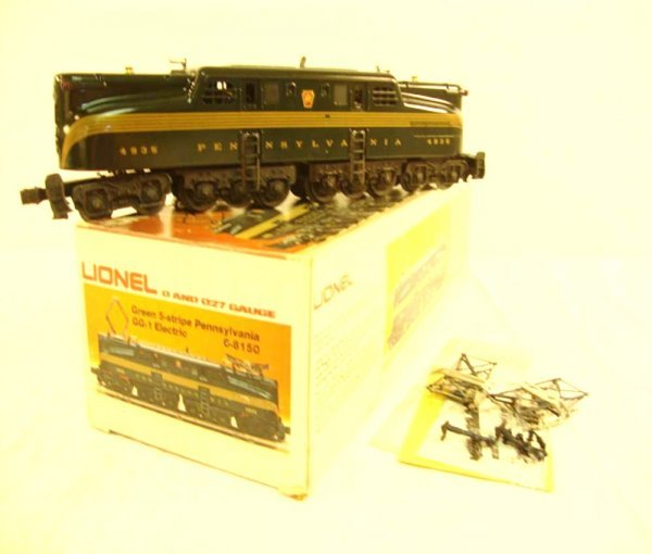 20: ABT: Lionel #8150 Green Five Stripe Pennsylvania GG