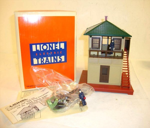 22: ABT: Lionel #2324 Switch Tower Accessory/OB
